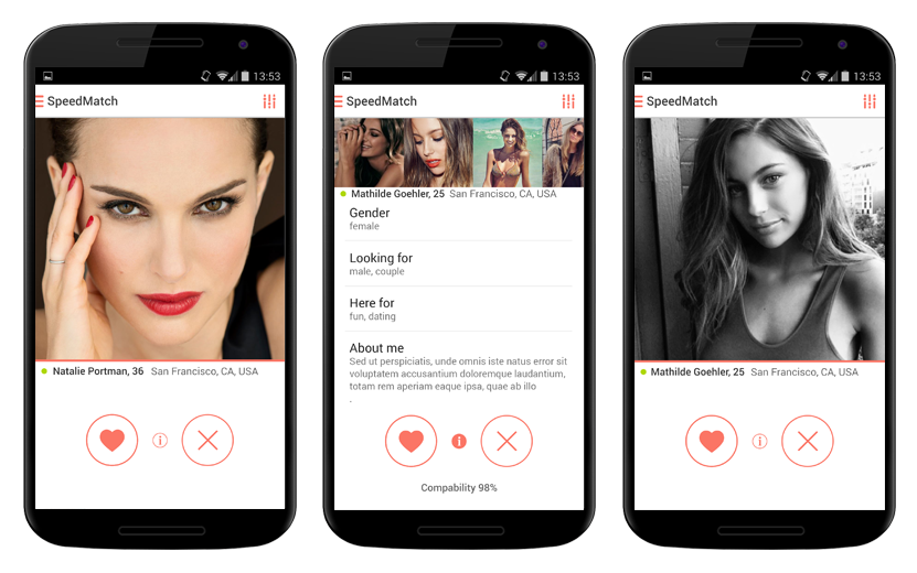 Application dating gratuite