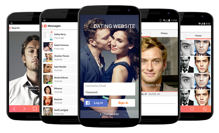 Dating application android